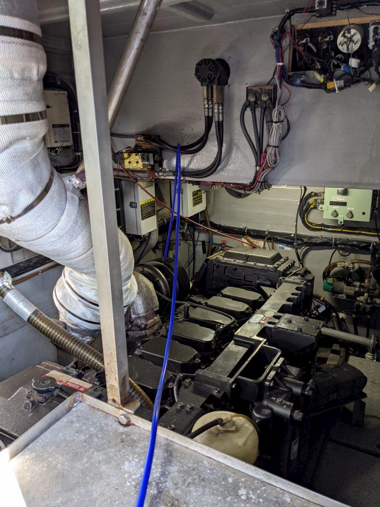 水素の力で燃料室クリーニング 船美